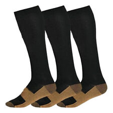 Copper Compression Socks Support Stockings 20-30 mmHg Men Women S-XL (1-3 Pair)