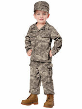 Soldier Army Military Commando Seal Team Book Week Toddler Boys Costume