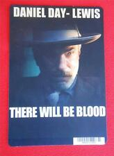 THERE WILL BE BLOOD ~ DVD Movie Backer Mini Poster Card ~ NOT a DVD