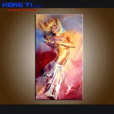 Handpainted Modern Decor Wall Art Oil Painting Canvas Abstract Nudes Sexy Girls