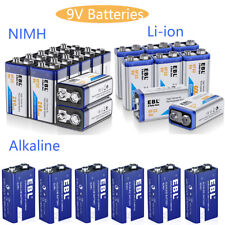 280mAh 9V NI-MH Rechargeable Batteries + 9-Volt Dual Charger for NiMH Li-ion