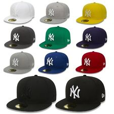 New Era Cap 59Fifty Fitted New York Yankees MLB Baseball Baseball Cap Authentic