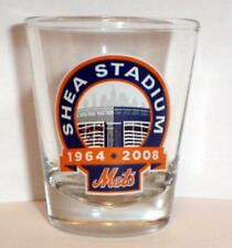 NY METS SHEA STADIUM FINAL SEASON SHOT GLASS 1964-2008