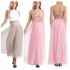Women's Long Evening Formal Cocktail Party Ball Gown Bridesmaid Maxi Prom Dress