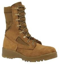 """Belleville 551 Hot Weather Steel Toe Coyote Tan 8"""" Combat Boot, Made in USA"""