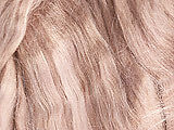 WONDERSCULPT Finest English Viscose OOAK Doll Fairy Hair Wig Reborn Dark Blonde