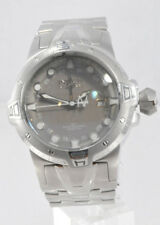 Men's Invicta 0648 Sea Excursion Reserve GMT Stainless Steel Gray Dial Watch