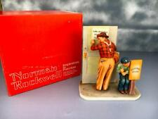 Norman Rockwell~Spring Closed for Business-Gorham.Porcelain Figurine~MINT~1960