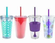 Copco Reusable Tumbler Cold To Go Cup with Removable Straw and Lid 24 oz