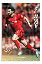 Liverpool FC Salah 18 - 19 Season Poster New - Maxi Size 36 x 24 Inch