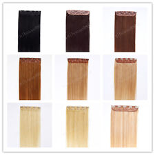 """22"""" Indian Remy Human Hair One Piece Volumizer Clip In Extensions 60g,15 colors"""