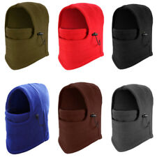 Ski Full Mask Face Cover Winter Fleece Balaclava Hat Motorcycle Neck Hood Cap US