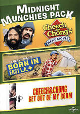 DVD Cheech and Chong's Next Movie Get Out Of My Room Born In East L.A. NEW