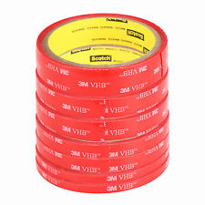 3M VHB Double-sided Clear Transparent Acrylic Foam Adhesive Tape - 5MM-20MM