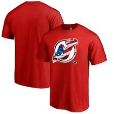 New Jersey Devils Fanatics Branded Banner Wave T-Shirt - Red