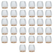 16/32PCS Silicone Chair Leg Round Caps Feet Pads Table Wood Floor Protectors RS
