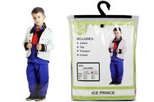 Party Planet Ice Prince Charming Childrens Costume Fancy Dress - Small & Large