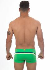 SUNDEK - COSTUME BOXER/TRUNK - M208SPL3000-462 - BRIGHT GREEN #8 - BEACH HEAD