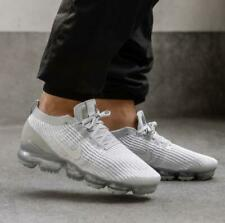 NIKE AIR VAPORMAX FLYKNIT 3 PURE PLATINUM White Size 8-12 Mens Shoes AJ6900 102