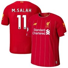 Mohamed Salah Liverpool New Balance Youth 2019/20 Home Replica Player Stadium