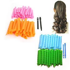 50cm Magic Hair Curlers Curl Formers Spiral Ringlets Rollers Tool 18/40pcs T1