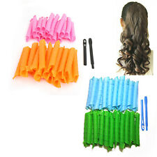 50cm Magic Hair Curlers Curl Formers Spiral Ringlets Rollers Tool 18/40pcs AT2