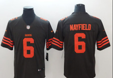 Baker Mayfield Color Rush Jersey 6 Authentic Stitched Cleveland Browns