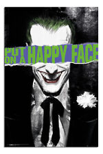 Laminated DC Comics The Joker Put On A Happy Face Poster