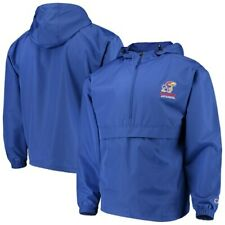 Kansas Jayhawks Champion Packable Jacket - Royal