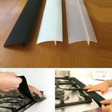 Silicone Stove Counter Gap Cover Oven Guard Spill Seal Slit Filler Kitchen