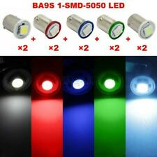 Ice Blue/White/Red/Blue/Green BA9S 1-SMD-5050 LED Instrument Panel Lights 1815