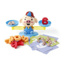 Board Game Monkey Match Math Balancing Scale Toy Educational Toy for Children HL