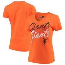 San Francisco Giants G-III 4Her by Carl Banks Women's Game On V-Neck T-Shirt -