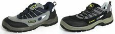 MENS STEEL TOE CAP & MIDSOLE SAFETY WORK TRAINERS