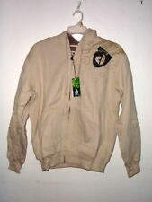 NWT MENS PERUVIAN COTTON FLEECE LINED ZIP HOODIE $100VALU INTERNATIONAL SURFWEAR