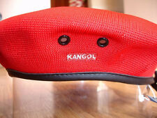 Red  KANGOL  Tropic  Monty  Beret  Style  0284KG NWT