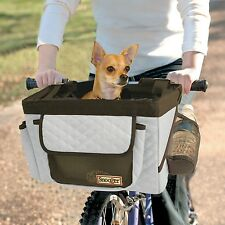 Snoozer Pet Product Buddy Dog Bike Bicycle Basket Seat