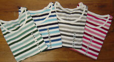 New Authentic NWT TOMMY HILFIGER Womens LS Shirt Top Tee round neck stripes