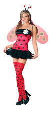Adult Sexy Ladybug Lady Bug Costume Halloween