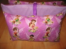 KINDERMAT NAP MAT W/ DISNEY FAIRIES PIXIE COVER PILLOW