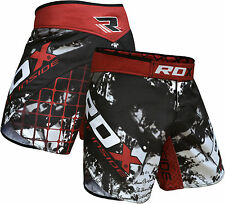 RDX MMA Shorts Grappling UFC Kick Boxing Mens Muay Thai Cage Fight Trunks R6B