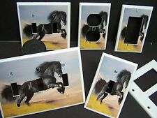 BLACK STALLION HORSE  # 1 LIGHT SWITCH OR OUTLET COVER