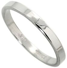 Sterling Silver Band Wedding / Thumb Ring Strong 3 mm