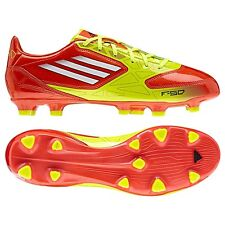 adidas F10 TRX FG 2012 Soccer Shoes Brand New Warning Orange / Yellow / White