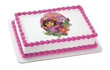 Dora the Explorer Fiesta Flower EDIBLE IMAGE cake decoration,cupcakes,cookies