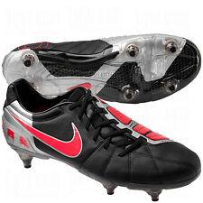 Nike Total 90 T90 Laser III Limited SG 2011 Soccer Shoes Black - Red Brand New