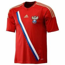 adidas Russia Euro 2012 Home Soccer Jersey Brand New Red