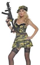Sexy Womens Army Military Soldier Halloween Costume