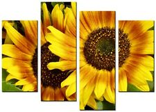 NEW MODERN CANVAS WALL ART ABSTRACT PICTURE  PRINT  MOUNTED ART LARGE SUNFLOWER