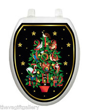 Twelve Days of Christmas Toilet Tattoo, Decor, Decal, Cover, Holiday TT-X620